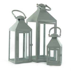 Lampiony metalowe - 20 PLN, 15 PLN, 7 PLN