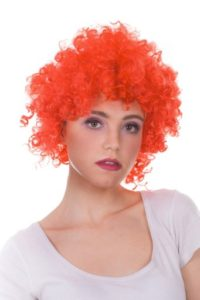 Peruka klaun czerwona